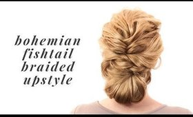 Bohemian Fishtail Braided Style