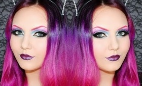 Cotton Candy Cut Crease Makeup Tutorial