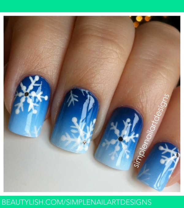 Christmas Nail Art Tutorial Gingerbread Galore: Simplenailartdesigns S.'s