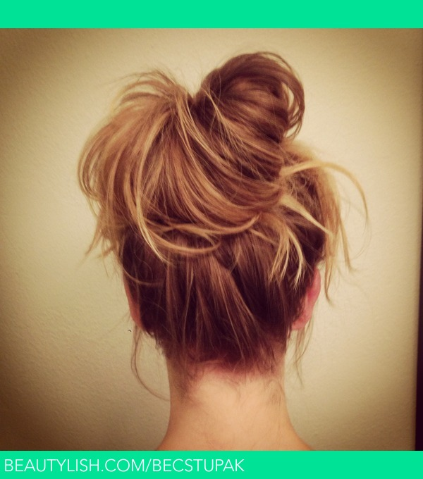 Messy Bun Bec S S Becstupak Photo Beautylish