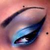 Gradient Blue Cat-Eye!!