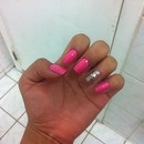 pink nails :)