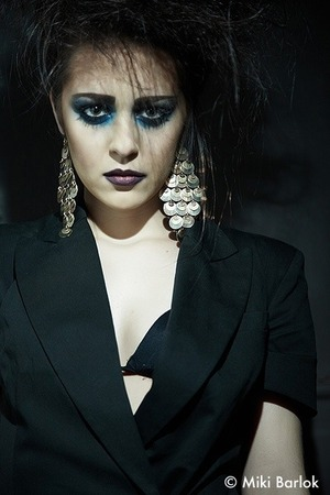 Backstage at Savoy Cork Fashion shoot Shot by Miki Barlok