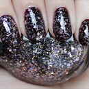 Nicole by OPI Inner Sparkle (Layered Over China Glaze Prey Tell)