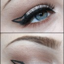 Dramatic Triangle Liner.