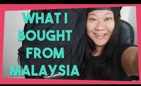What I Bought In Malaysia | Shop With Me Time