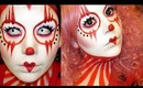 HALLOWEEN MAKEUP: Clowning Around