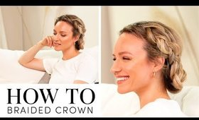 How To: Braided Crown Using Milk + Blush Hair Extensions