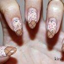 Dripping Ice Cream Nails