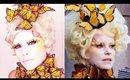 Effie Trinket Costume Makeup