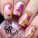 Spring nail art 🌸🌺🌷💐🌹