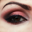 Apricot Smoky Eye