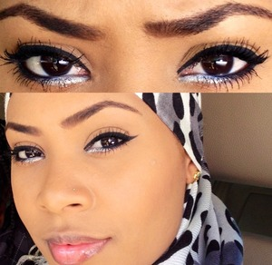 Black Liner with silver