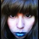 Blue lips?
