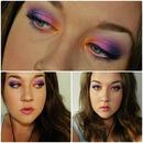 Orange, Pink And Purple !
