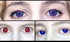 Pinky Paradise Contact Lens Review: Get Ready for Halloween
