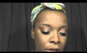 Makeup tutorial J-Lo Live it Up inspired look