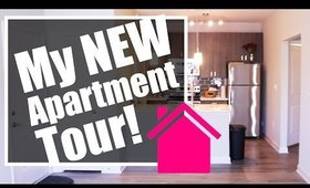 Vlog #1 My New Apartment Tour! Unfurnished Unedited | Behind the Scenes | Bonus Video