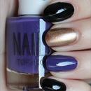 Super Bowl Baltimore Ravens Nails