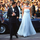 Old Is Gold. Princess Diana At Cannes, In Catherine Walker,.