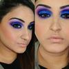 Bold Blue&Purple Cut Crease