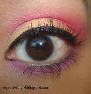 "L.A. Colors 5 Metallic Eyeshadow Palette ""Wildflowers"" http://msprettyfulgirl.blogspot.com/2011/06/fotd-wildflowers.html"