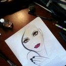 My vision coming to life ♥ face chart.