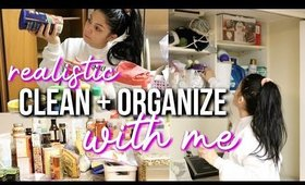 Realistic Clean & Organize with Me : Cleaning Motivation!