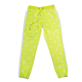 Chartreuse Track Jogger