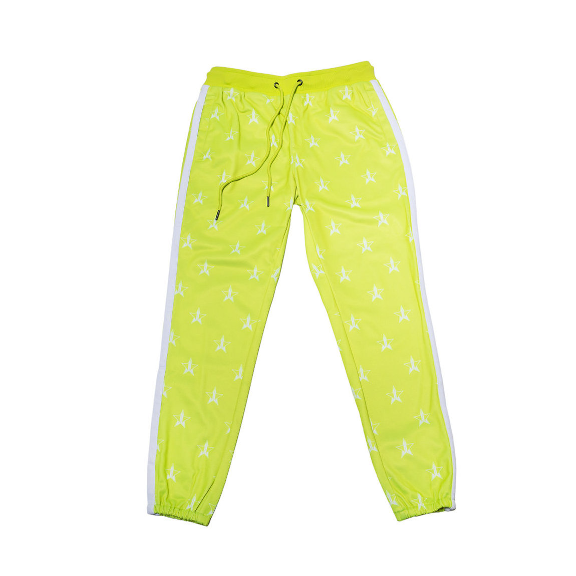 Jeffree Star Cosmetics Chartreuse Track Jogger Large product swatch.