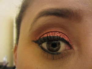 Christmas Eyeshadow! Foiled Mehron Shadow! <3