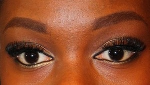 Soft Gold Smokey, created using Urban Decay's Naked Palette. Really GREAT Palette guys!