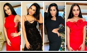 Holiday & New year's dresses under $15 ft Ami club wear.