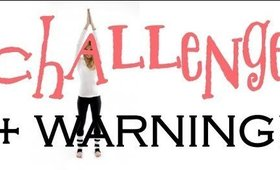 Fitness CHALLENGE + a WARNING!!! | naturesknockout