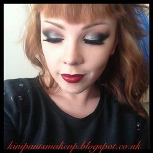 Tutorial for the eyes: http://youtu.be/PWJv5kSqq0I  Http://www.youtube.com/kimpantsmakeup Http://kimpantsmakeup.blogspot.co.uk