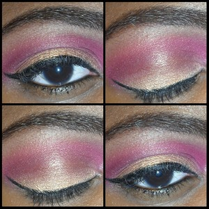 look created using bh cosmetics 88 cool shimmer palette and coastal scents 120 2nd edition palette.
