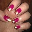 Effie Trinket nails - The Hunger Games