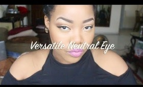 Versatile Neutral Eye Make-Up