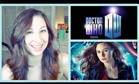 Doctor Who: Amy Pond Hair and Makeup Tutorial!