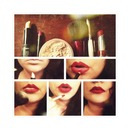 Perfecting your pout.