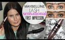 Maybelline Sensational Mascara - FIRST IMPRESSION