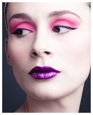 Wearing a fab combo by Sweetpea & Fay. Musidora liquid lipstick and Shmoody eyeshadow  Get their fantastic makeup  here: www.sweetpeaandfay.com  Musidora liquid lipstick and Shmoody eyeshadow