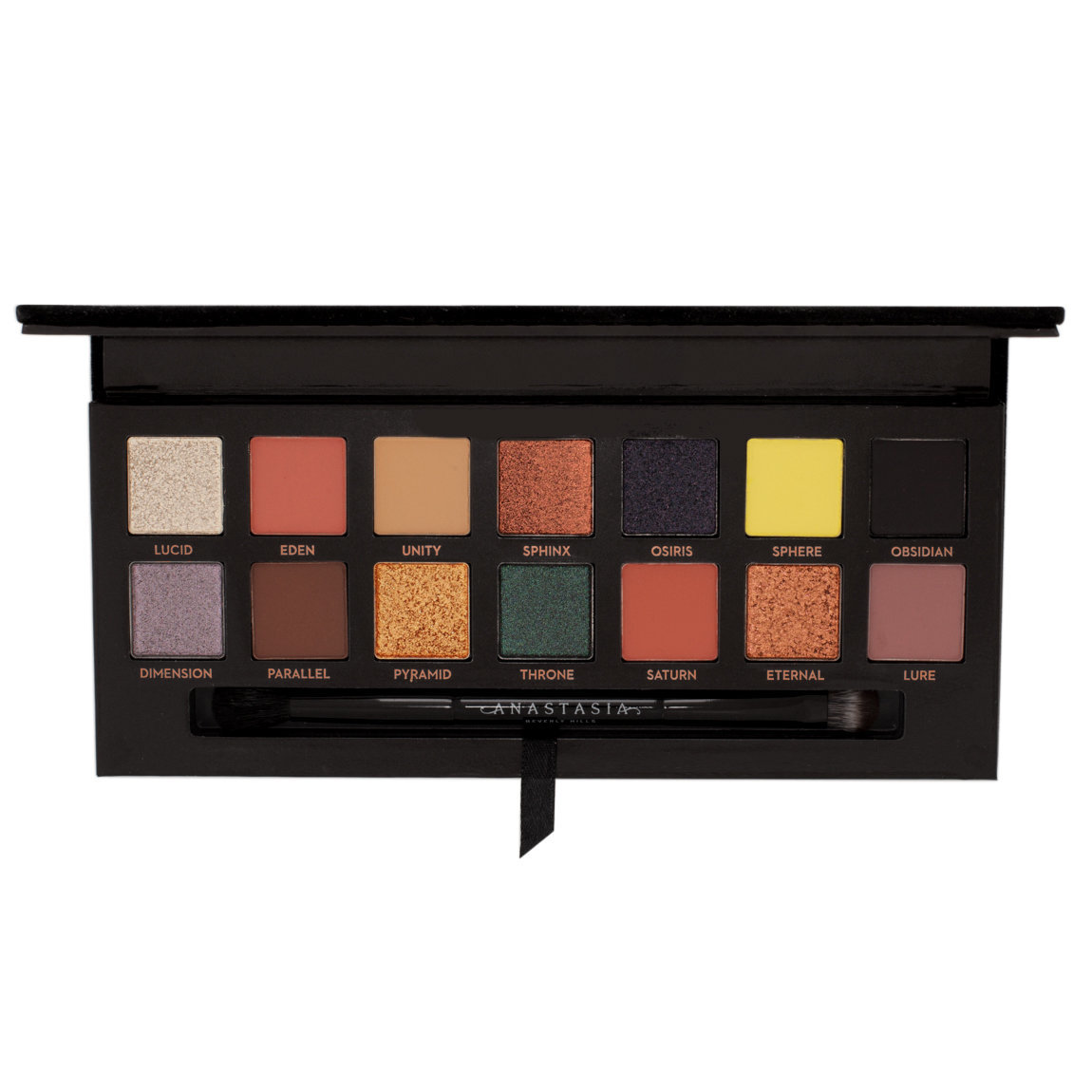 Anastasia Beverly Hills Prism Eye Shadow Palette product smear.
