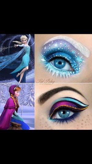 I just love this movie and this makeup is adorable!.....it's just perefect!