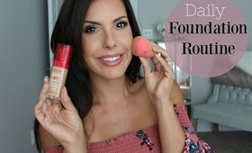 Daily Foundation Routine   Bourjois Healthy Mix   Over 30
