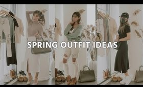 spring outfit ideas   at home lounge lookbook