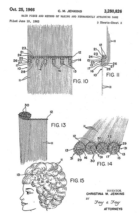 Photo: Christina M. Jenkins, Patent US3280826A