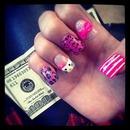 Hello Kitty, Chetah, Bows, And Pink!
