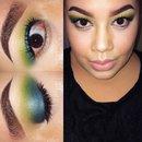 Turquatic inspired eyes 💋