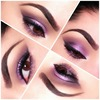 Sparkly Purple